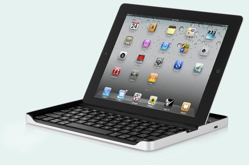 The Logitech Keyboard Case by ZAGG
