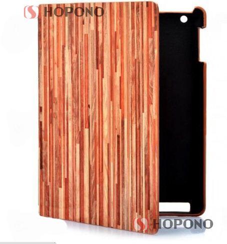 Wood Pattern PVC Back Smart Cover