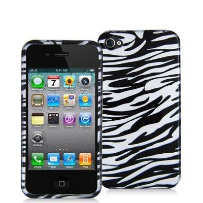 Zebra iPhone 4 Hard case