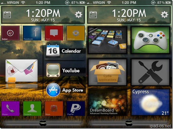 Dreamboard for iOS 5