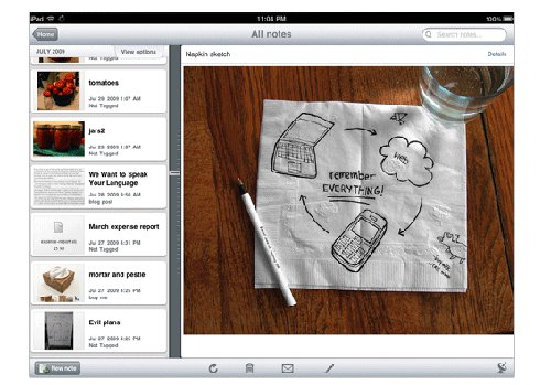 Evernote for New iPad