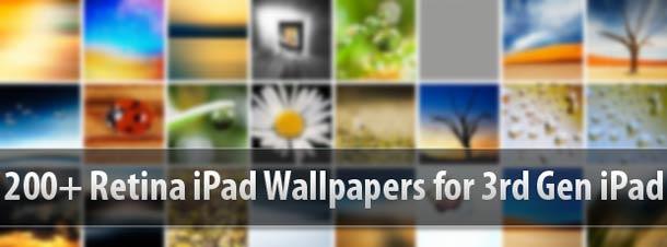 3rd Gen Retina iPad Wallpapers
