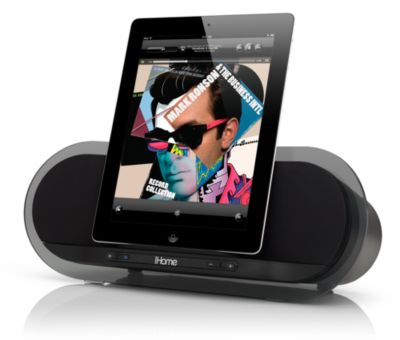 iHome iD3 Premium Bongiovi Acoustics DPS Stereo Speakers