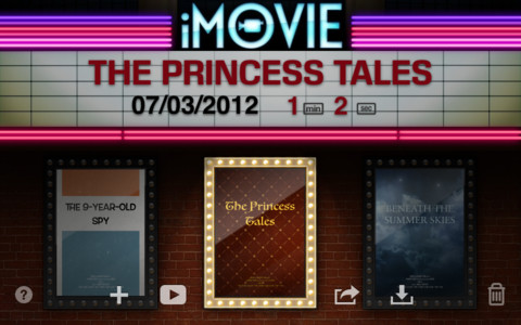 iMovie for New iPad