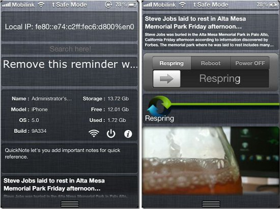 Notification Center for iOS 5
