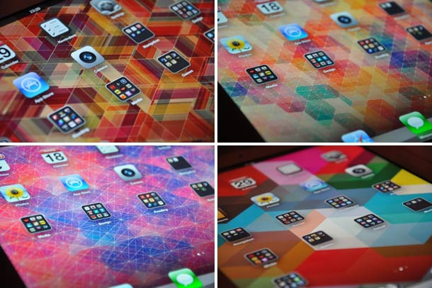 Retina iPad Wallpapers by Simon Cage