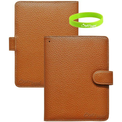CrazyOnDigital Slim Leather Kindle Cover