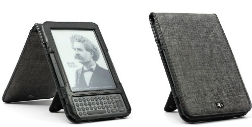 JAVOedge Charcoal Flip Style Amazon Kindle Case