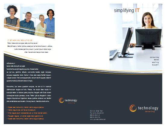 Technology Business Brochure