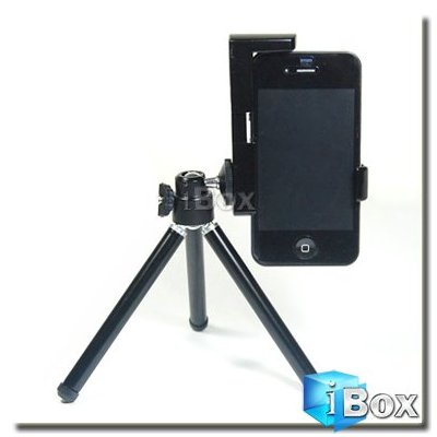 iBox Mini Adjustable Tripod+camera Holder for iPhone