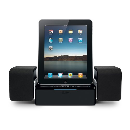 iLuv iMM747 Audio Cube Hi-Fidelity Speaker iPad 2 Dock