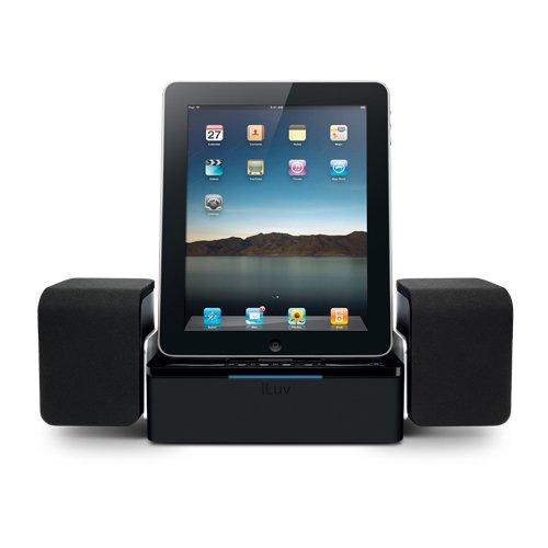iLuv iMM747 Audio Cube Hi-Fidelity Speaker iPad 2 Dock