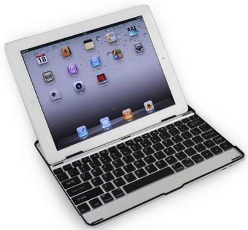 MiniSuit Apple iPad Aluminum Bluetooth Keyboard Case