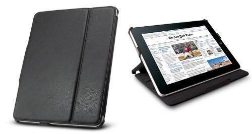 Technocel Leather Flip Book CaseFolio for Apple iPad