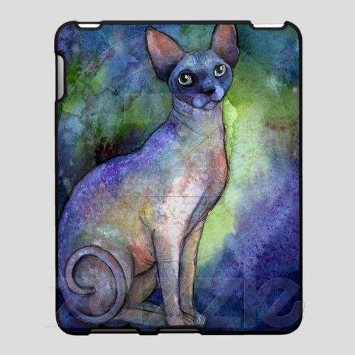 Watercolor Sphynx Sphinx Cat