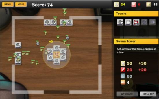 Online Game Desktop TD