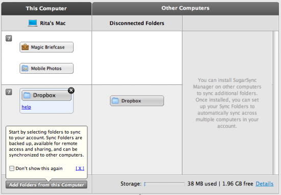 Dropbox Symbian