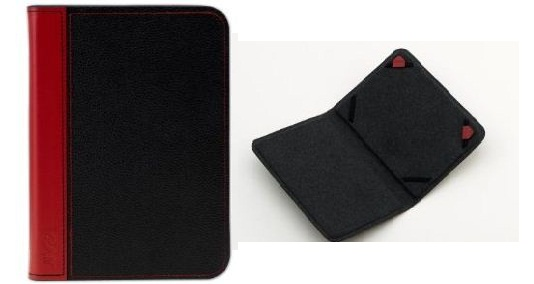 JIVO Black Textured Leather Cover