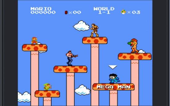 Super Mario Brothers Crossover