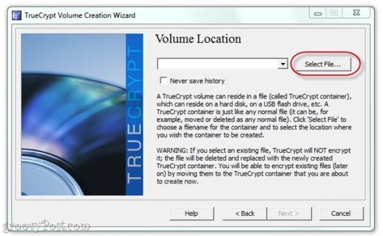 create a Volume