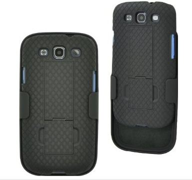 Aduro Shell Holster Combo Case with Kick-Stand
