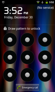 Bypass Android Pattern Lock