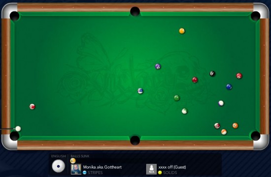 OMGPOP Online Pool