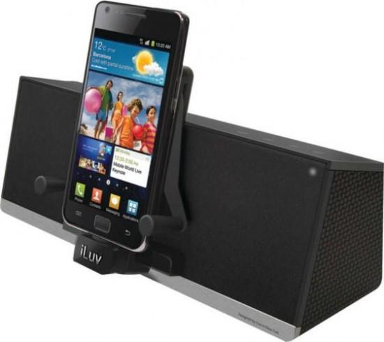 iLuv MobiAir Wireless Bluetooth Stereo Speaker Cum Dock