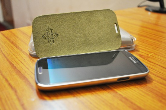 Galaxy S3 Spigen Ultra Flip Case
