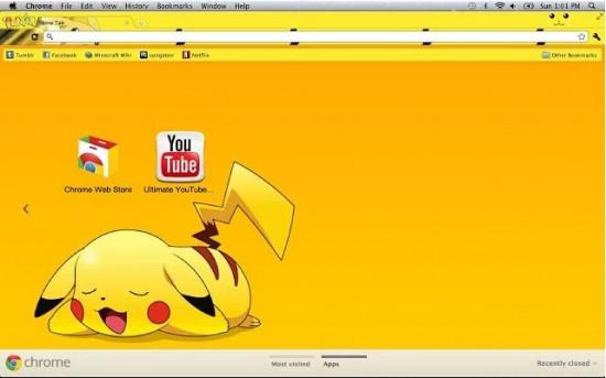 Pikachu theme