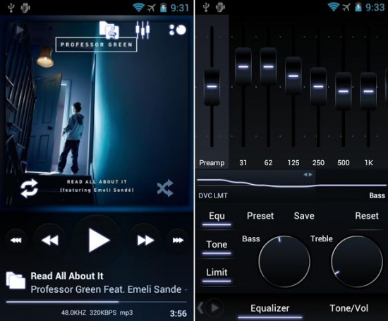 PowerAmp Best Android Music Player Apps
