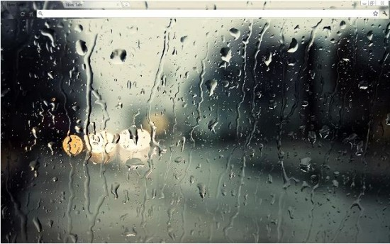 Raindrops Best GooGle Chrome Themes