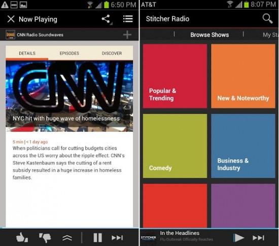Stitcher Radio - News & Talk