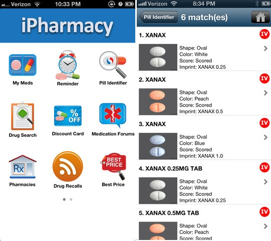 iPharmacy - Pill ID & Rx Reminder for iPhone and Android