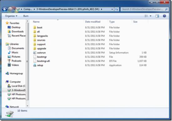 Make Bootable Windows 8 USB Stick