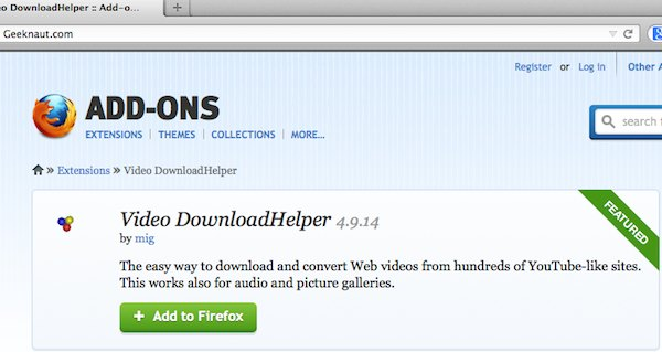Download helper.