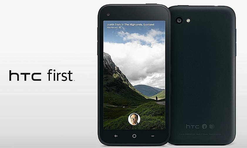 Facebook Phone HTC First