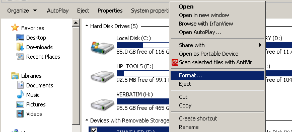 How to Resolve the Problem Ejecting USB Mass Storage Device