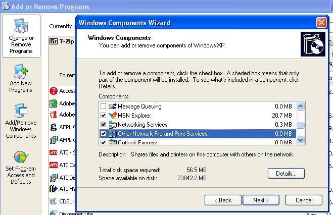 Windows Components