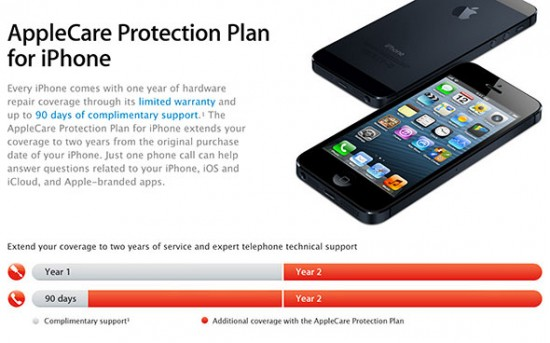 applecare cracked case