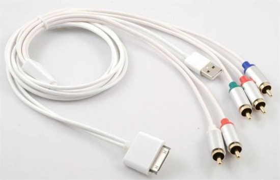 Component Cables Apple TV