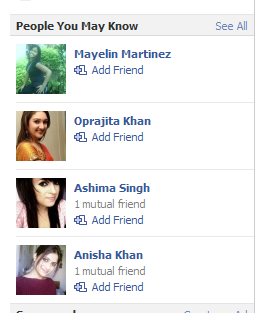 Facebook Friend Suggestions