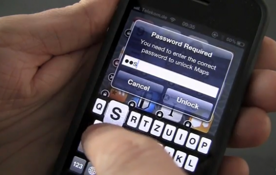 Cydia Password Lock