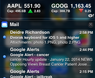 Bringing Transparency to Notification Center: BlurriedNCBackground for iOS 7