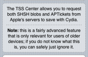 SHSH blobs will tell you if you can downgrade from iOS 6 to iOS 5