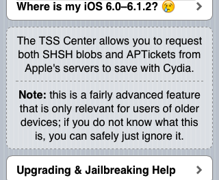 I Didn't Save My SHSH Blobs; Can I Downgrade From iOS 6 to iOS 5?