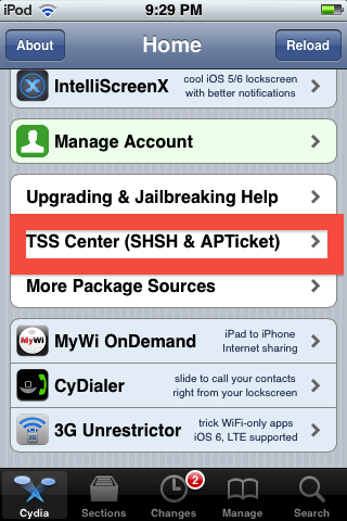 TSS Center (SHSH & APTicket)