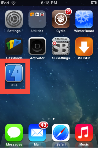 iFile grants you admin access to your files and allows you to modify your app icons