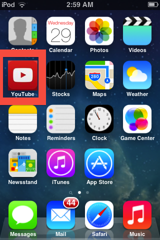 iFile now changes your old tube icon to the new iOS 7 icon