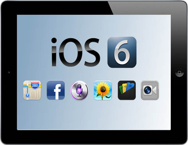 upgrade iPad 1 to iOS6